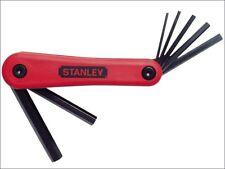 Stanley STA469262 Hexagon Key Folding Set of 7 Metric (2.5-10mm)