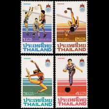 THAILAND STAMP XIII SEA GAMES 2nd SERIES 4 PIECES MNH 1,2,3,4  BAHT