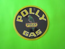 tin metal home garage repair shop man cave decor service station fuel polly gas