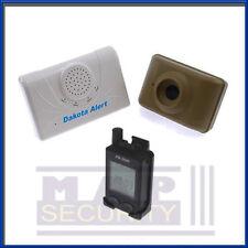 Dakota dcma 2500e sans fil externe driveway long range alarme & pager système!!!!