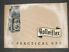 Rollei Rolleiflex Automat 1953 Camera Instruction Book / User Guide / Manual