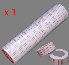 10 x ROTOLI ETICHETTE PER mx5500 una linea di determinazione dei prezzi Pistola Tag Mark Adesivo ETICHETTATRICE