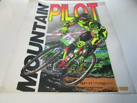 Vintage Mountain Pilot Bicycle Tee Shirt Iron-on Transfer 1993