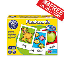 Orchard Toys Educational Flash Cards Game For Baby Kids Toddler Numbers Learning