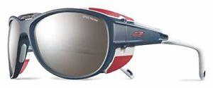 Julbo Explorer 2.0 Mountaineering Glacier Sunglasses - Spectron 4 - Matte Blue/R