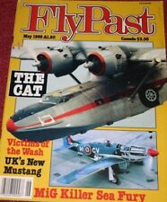 Flypast Magazine 1985 May Fairey Fox,Vickers Windsor,Tiger Moth,Boeing C-97