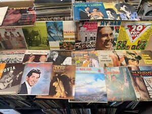 (6) World Music Record Mixed LOT 1960-80s NM Europe Island Latin Asia Greek Etc