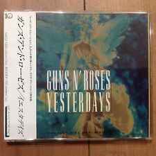 Guns N' Roses Yesterday Single November Rain CD Japan Obi MVCG-13001