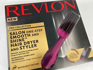 RVDR5232 Revlon Salon Smooth & Shine Hair Dryer & Styler NEW