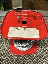 500' spool of Belden 8018 Aluminum Ground Wire
