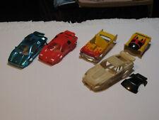 TYCO HO SLOT CAR JUNK / PARTS BODIES LOT