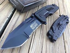 "8.5"" MILITARY RESCUE TACTICAL COMBAT TANTO Spring Assisted Knife NEW!!"