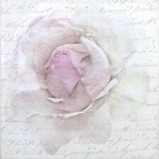 Papel 4x Servilletas Para Decoupage Decopatch Sagen Vintage Rosa Rosa carta