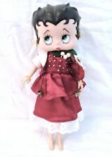 """Betty Boop 1986 Fashion Doll 12"""" Marty Toys Homemade Christmas Outfit"""