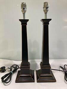 """Pair Of Vintage Laura Ashley """"Henshaw""""Table Lamps"""