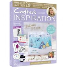 CRAFTERS INSPIRATION MAGAZINE ISSUE 16 WINTER 2018 - £50 FREE KIT DIE FOLDER CD