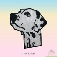 Cute Dog Head Disney Embroidered Iron On Sew On Patch Badge For Clothes etc