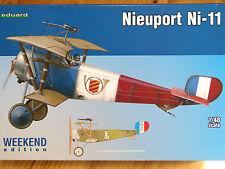 Eduard Weekend Edition 1:48 Nieuport Ni-11 Aircraft Model Kit