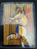 "🔥🏀1997-98 Z-Force RC Embossed ""Boss"" Insert Card, Kobe Bryant NM/MInt 3 of 20"