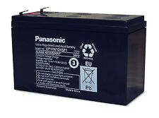 2 pcs. New Panasonic VRLA lead acid battery 12V 9Ah UP-VW1245P1 APC UPS Battery