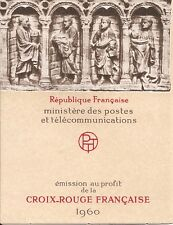 FRANCE - CARNET CROIX-ROUGE 1960 **  Y&T N° 2009 - MNH