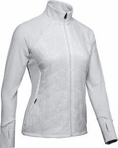 Under Armour ColdGear Reactor Insulated Womens Running Jacket - Grey