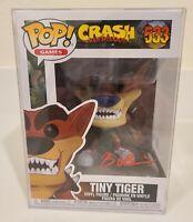 Funko POP! Games Crash Bandicoot Tiny Tiger Pop533 Signed Brendan O'Brien COA