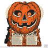 HALLOWEEN Jack O Lantern FORTUNE WHEEL GAME Vintage Beistle 1930 Reproduction