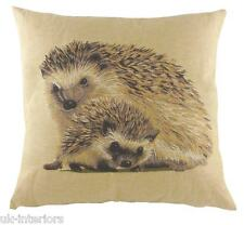 "18"" HEDGEHOG Belgian Tapestry Cushion Evans Lichfield British Wildlife LC489"