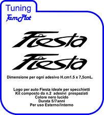 ADESIVO logo FIESTA TUNNING NO 500 NO MINI NO SMART