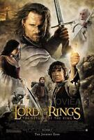 THE LORD OF THE RINGS RETURN OF THE KING MOVIE POSTER FILM A4 A3 PRINT CINEMA