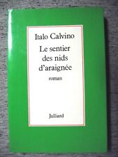 ITALO CALVINO LE SENTIER DES NIDS D'ARAIGNÉE JULLIARD 1978