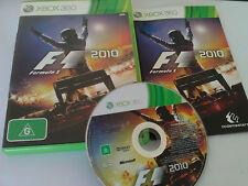 F1 Formula 1 2010 Xbox 360