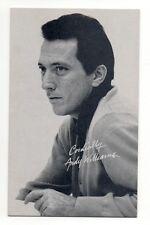 Andy Williams 1960's Bio Back Billboard Exhibit Arcade Card