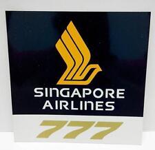 Mega Rare Vintage SIA Singapore Airlines 777 Advertising Sticker