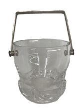 DAUM France Seau à Glace Cristal Moderne Design Modèle SORCY Antique Ice Bucket