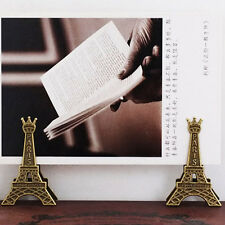 pinces La Tour Eiffel métal billet photos table notes durable mignon beau décor