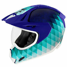 Icon Variant Pro Hello Sunshine Blue Motorcycle Motorbike Helmets