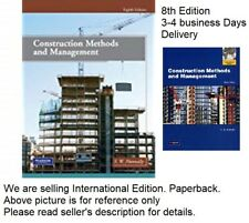 Construction Methods and Management 8e Global Edition