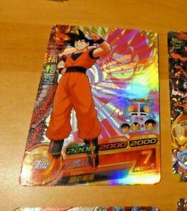 DRAGON BALL Z DBZ DBS HEROES CARD PRISM HOLO CARTE H6-CP1 CP MADE IN JAPAN **