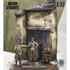 1/35 scale Diorama Resin Model figure Soldier x3 US Troops + base WW2 Normanby