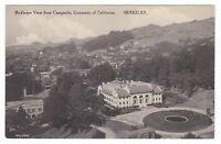c1920 BERKELEY CA PANORAMIC UNIVERSITY HOMES VINTAGE POSTCARD CALIFORNIA B&W OLD