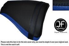 BLACK & ROYAL BLUE VINYL CUSTOM FOR 96-98 SUZUKI RGV 250 VJ23 REAR SEAT COVER