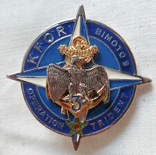 3° RIMA KFOR TRIDENT KOSOVO 36 mm Régiment Infanterie de Marine TDM ORIGINAL