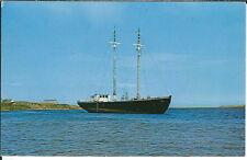 AZ-155 - Bluenose Schooner Marion Elizabeth Margorea Harbour NS Canada Postcard