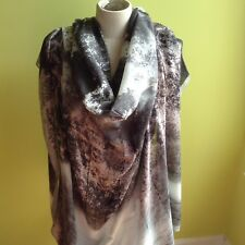 MAX MARA New Authentic Scarf-Foulard-Ribbon, Made in Italy, MSRP $245.00