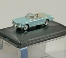 1968 FORD MUSTANG CONVERTIBLE in Turquoise 1/87 scale model OXFORD DIECAST