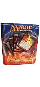 Premium Deck Series Fire and Lightning Factory Sealed All Foil