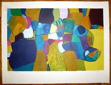 Bourdouxhe Lithographie originale signée numérotée abstraction art abstrait