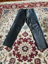 Gay BLUF leather jeans